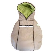 "baby parka carrier coat ""stone"""