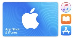 App Store and iTunes Gift Certificate
