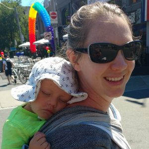 Perfect Fit Babywearing Photo
